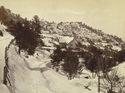 Winter scene, Murree 7521252